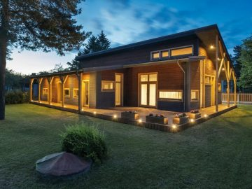 Wooden element house