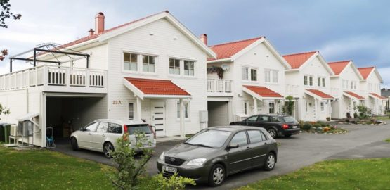 Levanger terraced house