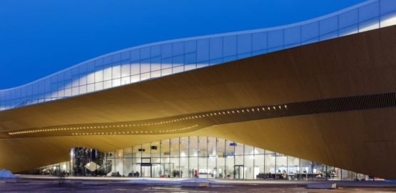 Helsinki library front