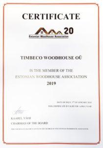 Woodhouse-sertifkaati