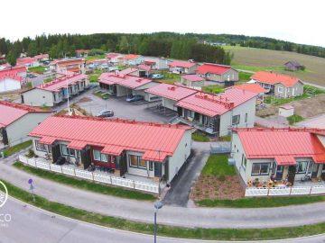 Bygging av rekkehus