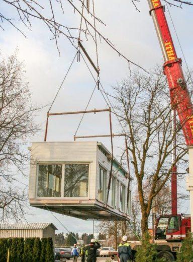 Modulær byggekonstruksjon
