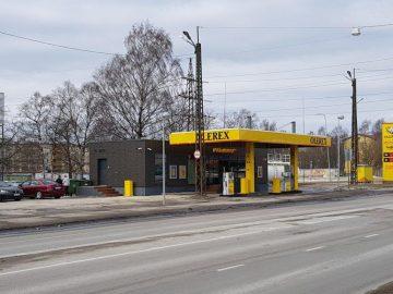 Modular bensinstatjon