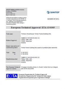ETA sertifikat