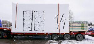 Transport av moduler
