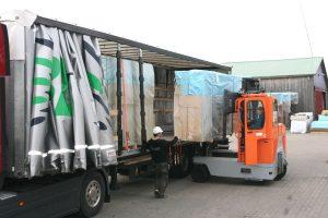 Transport av byggelement
