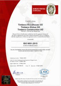 ISO-9001-Certifikaat