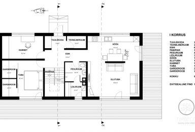 Eramaja korruse plaan