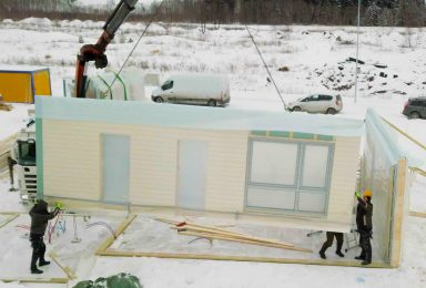 Puitelementidest ehitamine