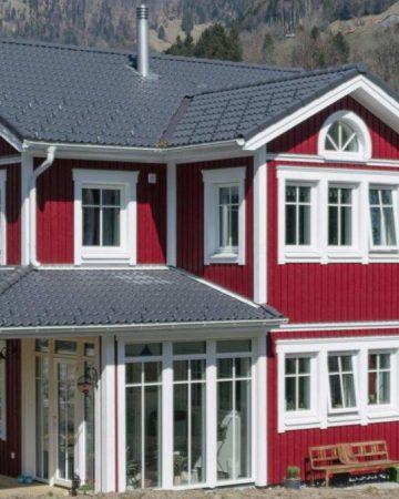 Elementmaja paigaldustööd sveitsis