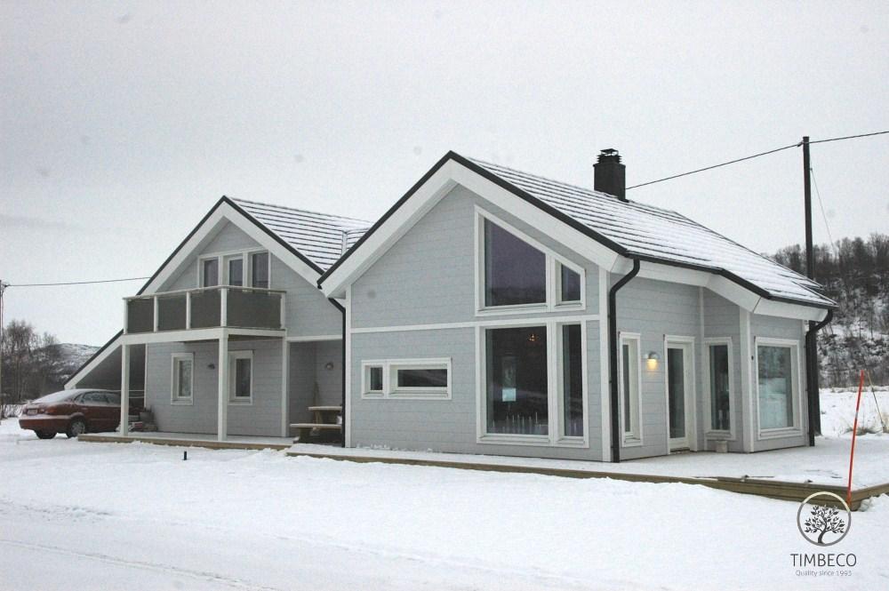 Puitelementidest majad